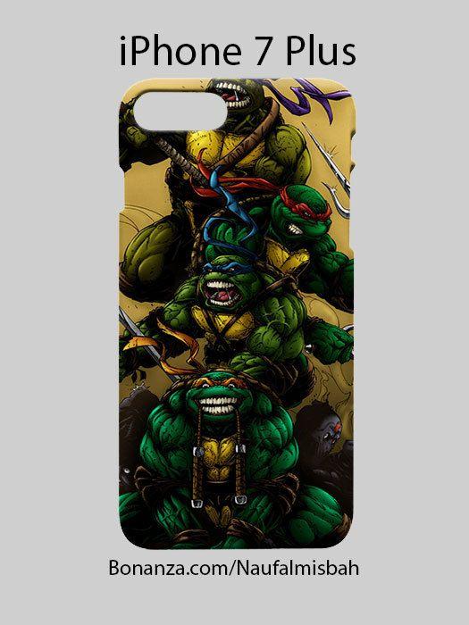 Teenage Mutant Ninja Turtles TMNT iPhone 7 PLUS Case Cover Wrap Around