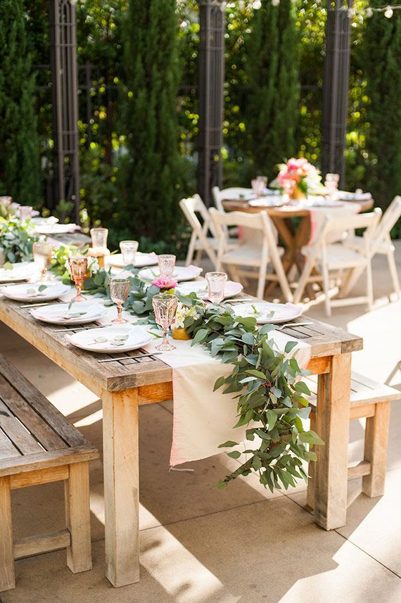 Orange County Backyard Baby Shower Flowers By Sea Of Blossoms Candice Benjamin Photography