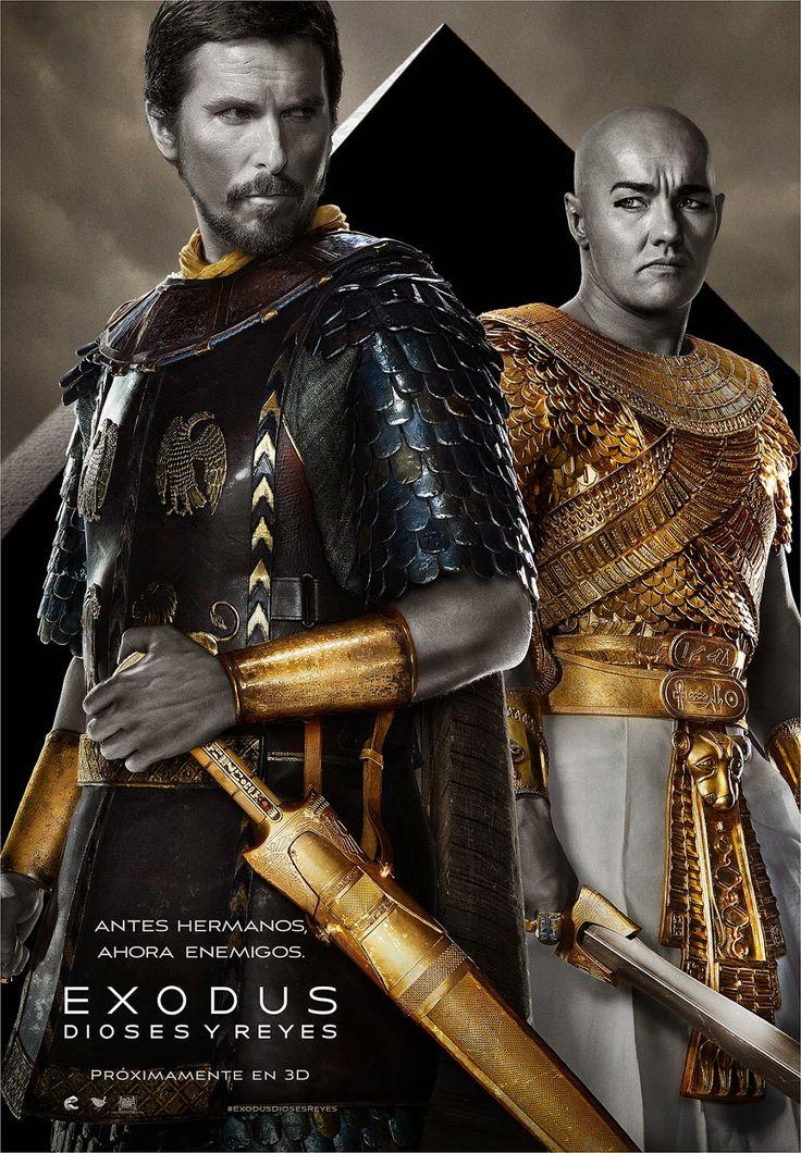 Exodus: Dioses y Reyes de Ridley Scott - Soy Cazadora de Sombras y Libros