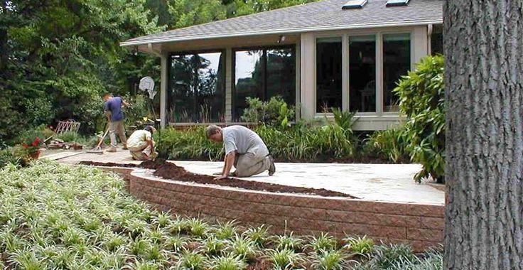 Patio Hampton Roads Landscaping Mcdonald Garden Center Garden Pathways And Steps Pinterest