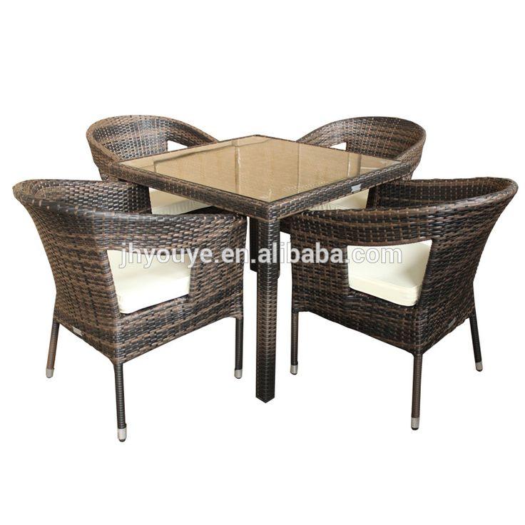 Juego de comedor de ratán al aire libre muebles | manufactory since ...