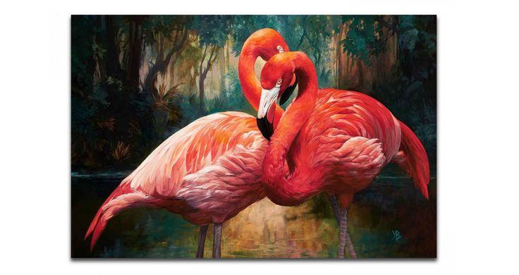 Ez a flamingós vászonkép garantáltan feldobja az unalmas egyhangú falakat! Ne habozz, rendeld meg a premiumbutor,hu oldalunkról! #flamingo #flamingok #vaszonkep #falikep