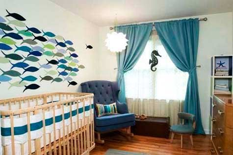 What's Your Nursery Style? - Mine was 'Creative Theme' aka make up my own theme and run with it. Way ahead of you, Babylist!
