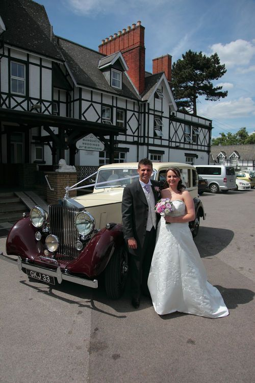 Arrival photograph at Bickley Manor Hotel
