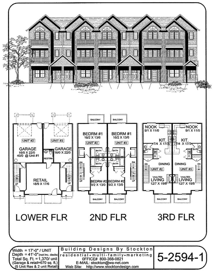 Living on top 3rd floor and retail space on bottom level for Retail apartment plans
