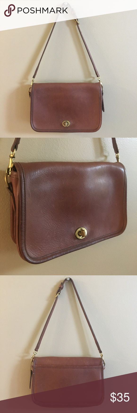 Vintage Coach Legacy Penny Bag Purse Good condition! Please send me any questions, thanks! Coach Bags Shoulder Bags