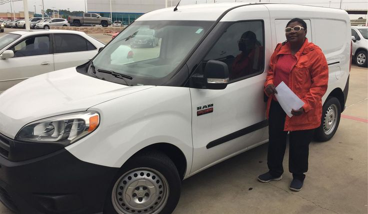 Gwendolyn, we hope you enjoy your new 2015 RAM PROMASTER.  Congratulations and best wishes from Orr Chevrolet and TYANTHONY JONES.