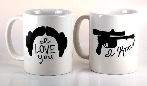 gave as towels Christmas 2015 Funny Coffee Mug Set - I Love You / I Know - 11 Ounce Coffee Mug - Couples Gift - Tea Cup