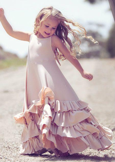 One Good Thread - Dollcake Oh So Girly - Dollhouse Pink Long Wedding Frock Dress | One Good Thread, $80.00 http://www.onegoodthread.com/