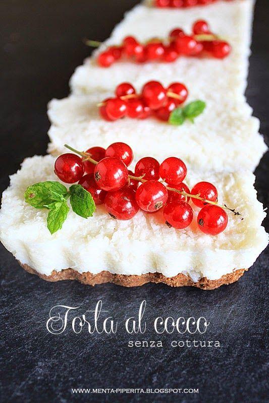 torta al cocco senza cottura #coconut #cake