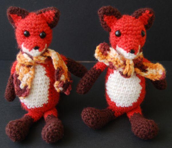 amigurumi fox crochet