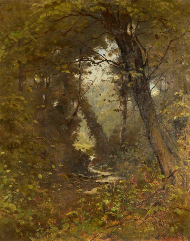 Flood Brook Hedley Fitton (1859–1929) Runcorn Town Hall