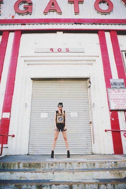 Lifestyle Photoshoot - Brandy Melville - Jeffrey Campbell - Arts District Downtown LA