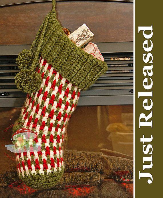 Ideas For Christmas Stockings best 20+ crochet christmas stockings ideas on pinterest | crochet
