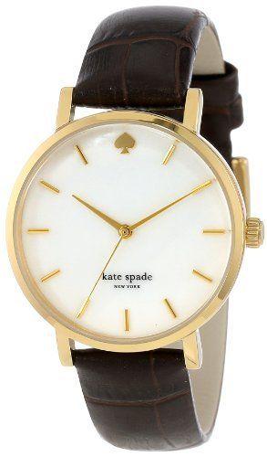 kate spade new york Women's 1YRU0311 Watch with Brown Leather Band, http://www.amazon.com/dp/B00BWL47B4/ref=cm_sw_r_pi_awdm_ehrJub049TARR