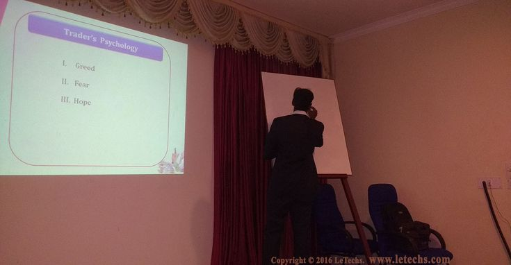 LeTechs Forex Blog - Our Snaps From Forex Technical Seminar In Madurai