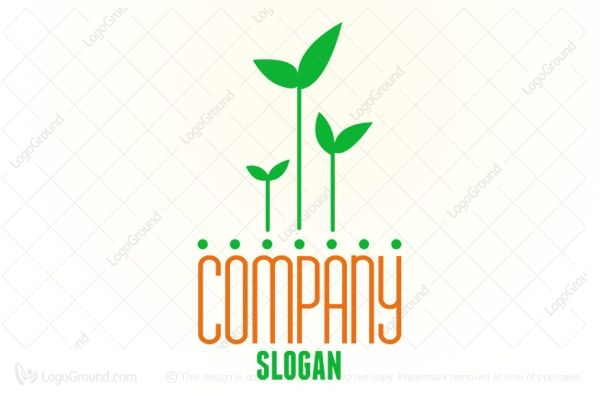 Logo for sale: Sprout Growth Logo