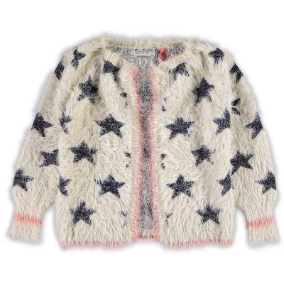 Retour Vest | kleertjes.com | #kinderkleding #babykleding #kids #fashion #vest #stars #fluffy