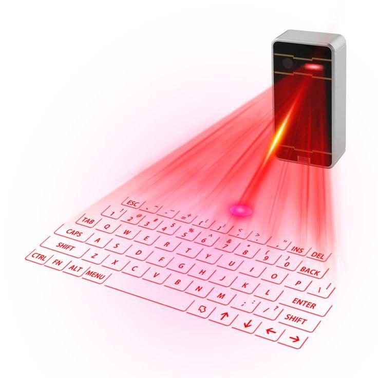 Bluetooth Virtual Laser billentyűzet és egér Bluetooth hangszóró Ipad Iphone…