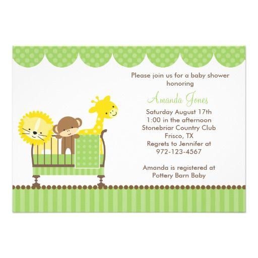 de animales bricolaje tarjetas animales de la selva ideas de la invitacin de la ducha del beb baby showers selvas