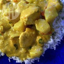 Curry met kip en sherry @ allrecipes.nl