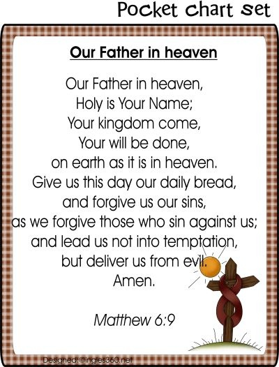 108 Best The Lords Prayer For Children Images On