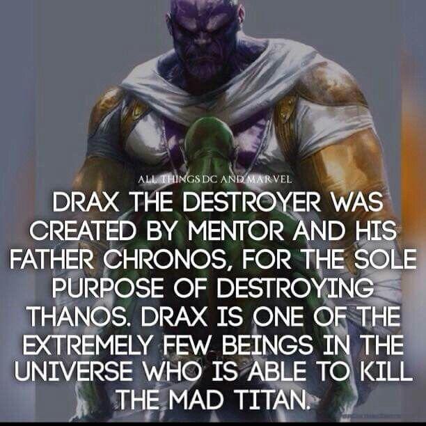 Drax Douglas - ••