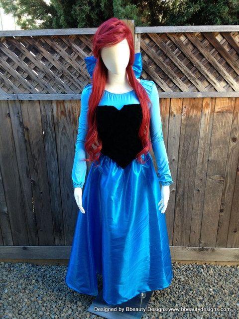 Ariel Kiss the Girl in Taffeta with Taffeta Bow by Bbeauty79, $575.00