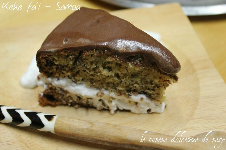 le tenere dolcezze di resy: keke fa'i  - la torta alle banane da Samoa