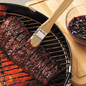 Cherry Barbecue Sauce Recipe from Taste of Home -- shared by Ilene Harrington of Nipomo, California