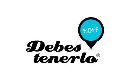 Diseño de marca para la compañía Debes Tenerlo. Portal de Cupones de descuento a cargo de Novoclick Group® y en actual desarrollo.