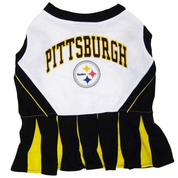 Pittsburgh Steelers Dog Cheerleader Dress