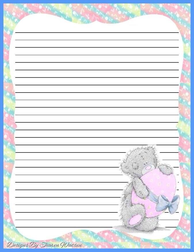It's just an image of Refreshing Pretty Lined Paper