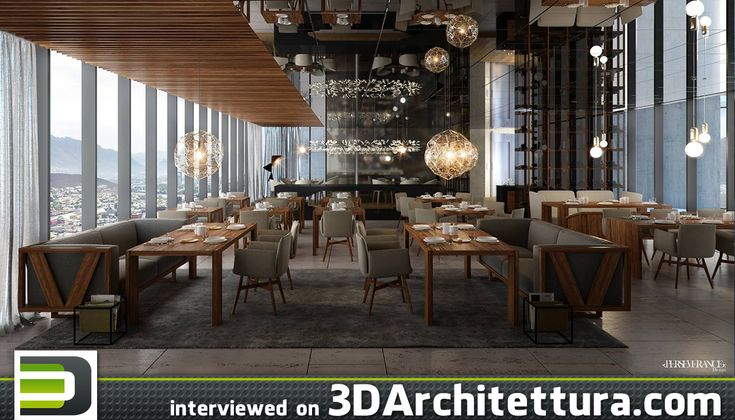 Hector Martinez Garcia, CG artist from Mexico, spoke to 3darchitettura.com about his experience in 3d visualizations.
