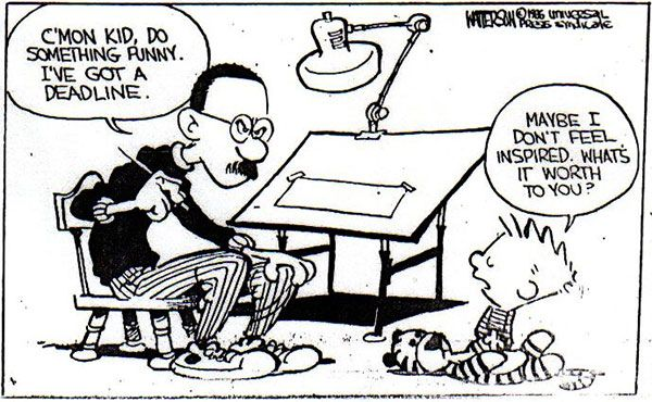 #BillWatterson... Inspirational. #bradsmith #blogpost #blog