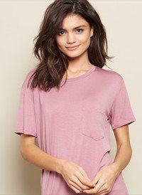 Garage Clothing Boyfriend Tee With Pocket Found On My New Favorite App Dote Shopping