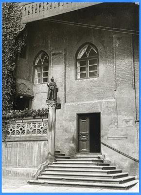 Königsberg (Pr.), Treppenaufgang im Schloßhof V 1930 - 1940