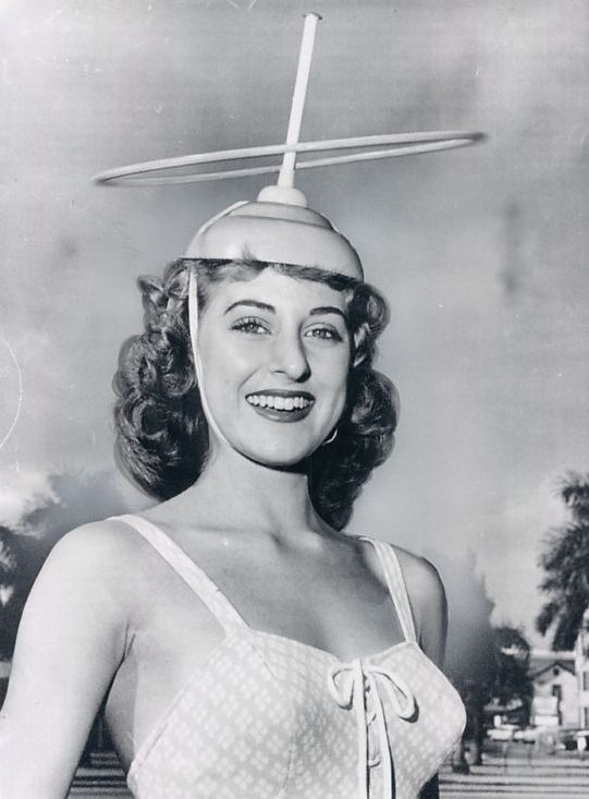 Strap a plunger on your head and hula hoop.  The 1950s were really weird.