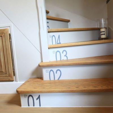 Sticker déco pour escalier