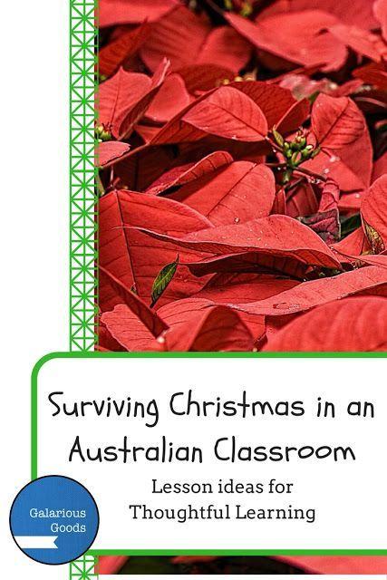 Surviving Christmas in an Australian Classroom