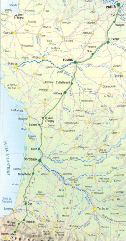 17 best images about chemins de compostelle on pinterest - Train from paris to st jean pied de port ...