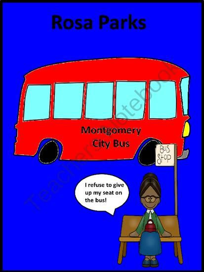 best rosa parks biography ideas who was rosa rosa parks biography and activity book from funteach on teachersnotebook com 5 pages