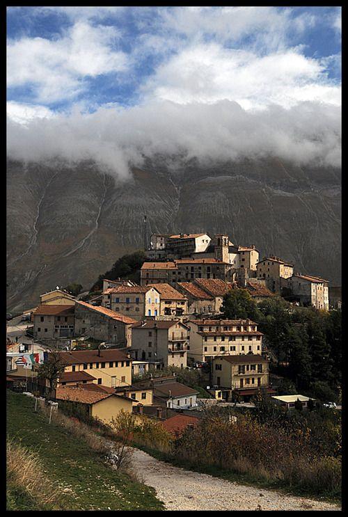 Castelluccio di Norcia, Italy.