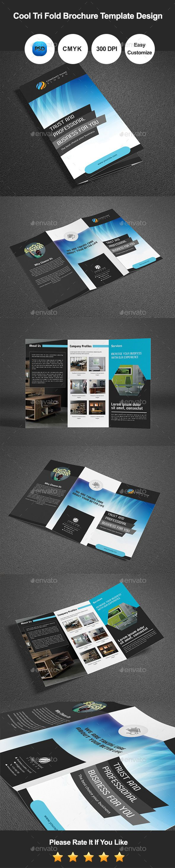cool brochure templates - best 25 tri fold brochure template ideas only on