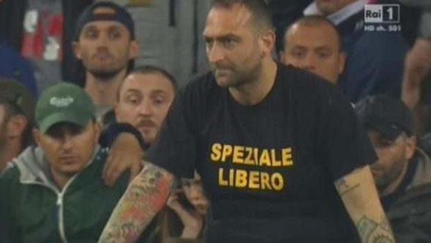 Genny 'a carogna | Daspo di 5 anni per l'ultras del Napoli