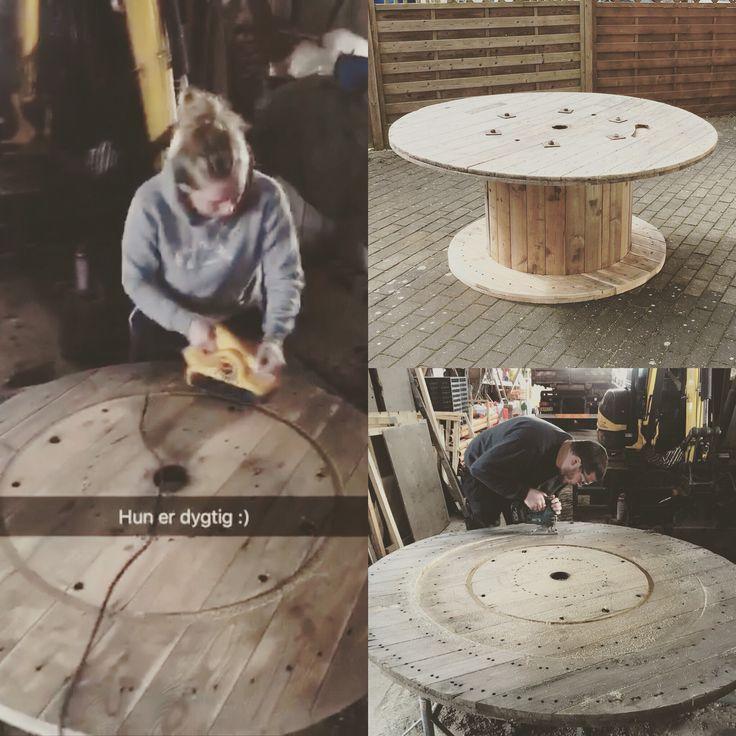 Havebord/graden tabel Home made