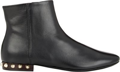 Balenciaga Studded-Heel Ankle Boots at Barneys New York