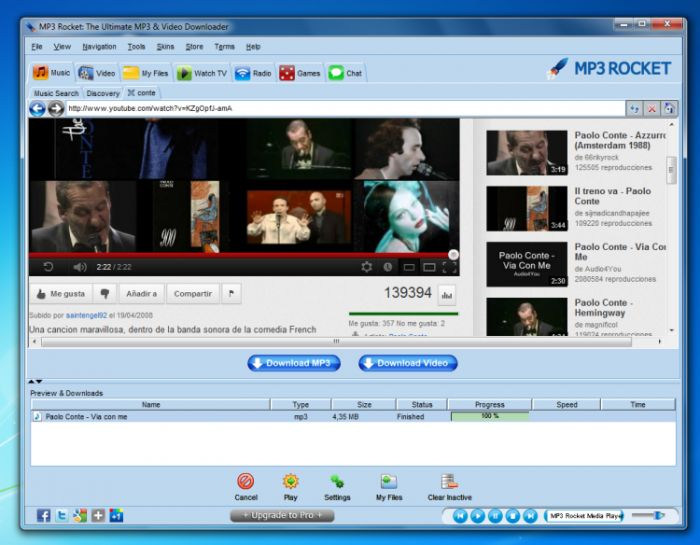 mp3 rocket offline installer download