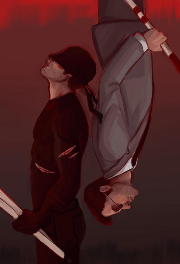 Daredevil. Aaaand theres already fanart! Really I shouldn't be surprised