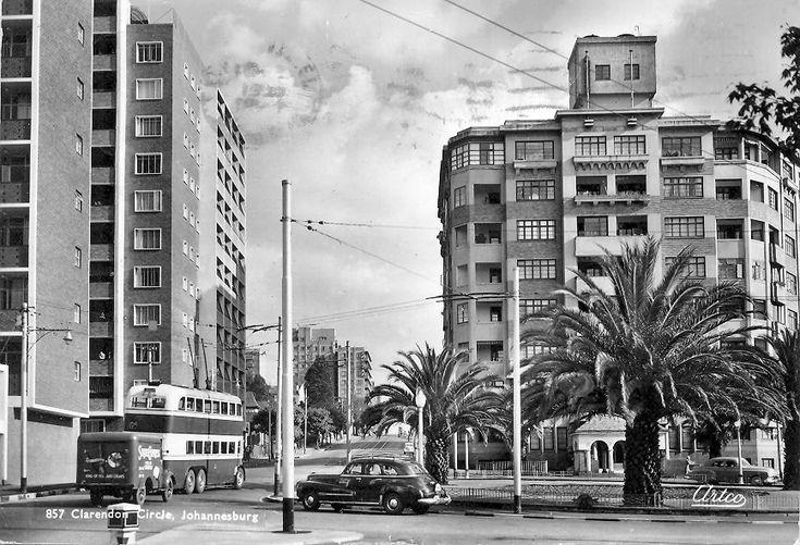 Clarendon Circle Hillbrow, late 1940's